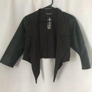 3/4 length blazer